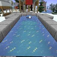 Aantal warp hits: 412  Mini-Golf parcours