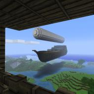 A big airship entering the kingdom of Lur. Stil...